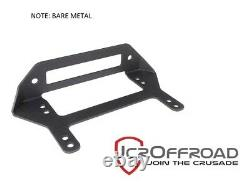 JCR Offroad Winch Fairlead Mounting Bracket Bare Metal Universal Jeep
