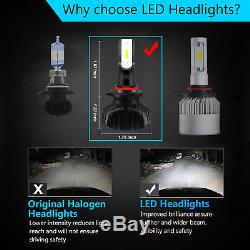 JDM ASTAR 10000LM H10 9145 White CSP LED Bulb DRL Running Fog Lights Bulbs 6500K