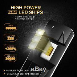 JDM ASTAR 2x HB4 9006 Headlight Low Beam Fog Driving Light LED Bulb White 6500K