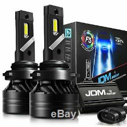 JDM ASTAR 2xF3 HB4/9006 LED Headlight Low Beam Fog Light Bulbs White Replacement