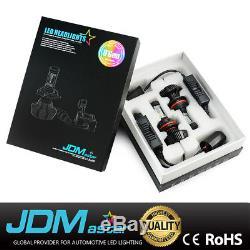 JDM ASTAR 8G 8000LM 9007/HB5 CSP LED Headlight Hi/Low Beam Bulbs Kit White 6000K