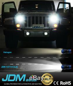 JDM ASTAR 8TH 8000LM 9006/HB4 Headlight LED Bulbs Low Beam Fog Light Xenon White