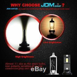 JDM ASTAR G5 9007/HB5 SMD LED Headlight High Low Beam Bulbs 6000K Xenon White 2x