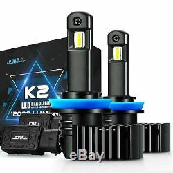 JDM ASTAR K2 12000LM H11 LED Headlight Low Beam Fog Cornering Light Bulbs White