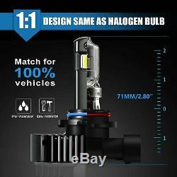 JDM ASTAR K2 12000LM H11LL/H11 LED Headlight Low Beam Bulb Xenon White Fog Light