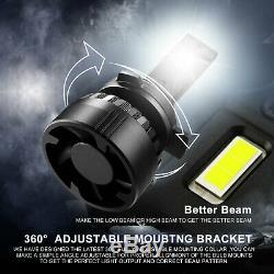JDM ASTAR T3 6500K 90W 9008/H13 LED Headlight Bulb High Low Dual Beam White 2x
