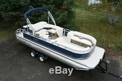 Just in -New 23 ft two tube pontoon boat with 115 hp and trailer
