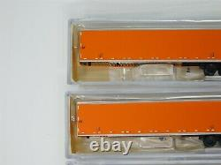 LOT Of 6 N Scale Deluxe Innovations 711701 Schneider National 53' Trailers