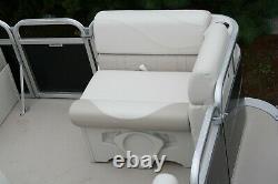 Little pontoon boat sale-New 14 Ft pontoon boat- 25 hp and trailer