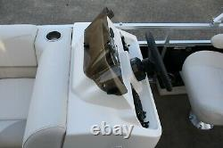 Little pontoon boat sale-New 18 Ft pontoon boat- 25 hp and trailer