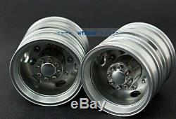 Metal lesu 1/14 wheels set for tamiya US truck trailer King knight grand Hauler