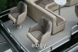 New 20 Party Fish Grand Island pontoon boat-40 four stroke and trailer