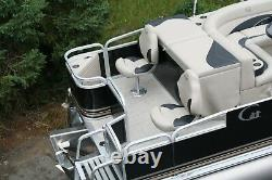 New 20 fish and fun Grand Island pontoon boat-60 four stroke and trailer