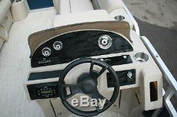 New 23 ft pontoon boat with 115 four stroke and trailer