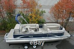 New 25 ft Grand Island Cruise with 115 and trailer