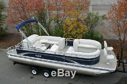 New 25 ft bow Fish with 115 hp and bunk trailer