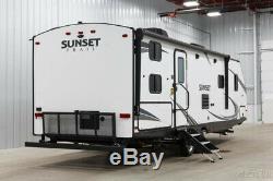 New RV 2018 CrossRoads Sunset Trail Grand Reserve 28BH Bunkhouse Travel Trailer