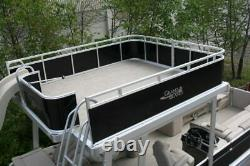 New-Triple tube 25 ft Funship pontoon boat with 150 Trailer