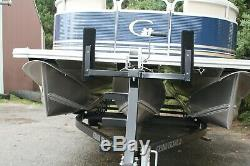 New Triple tube 25 ft Grand Island 150 Mercury with trailer