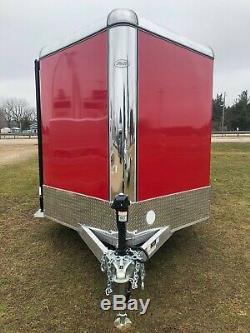 R&R Trailers Premium All Aluminum 2020 7x16 Deluxe Platinum Cargo Trailer