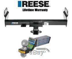 Reese Trailer Hitch For 11-19 Jeep Grand Cherokee WK2 Class 3 with Mount & 2 Ball