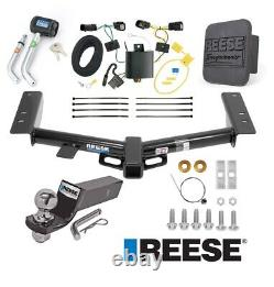 Reese Trailer Tow Hitch For 15-19 Ford Transit 150 250 350 Deluxe Package Wiring