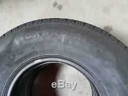 Set of 2 New Grand Ride Trailer Tires ST235/85R16 Radial 10PR / Load Range E