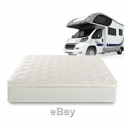 Sleep Master Deluxe Spring Pillow Top RV Camper Trailer Truck Mattress Travel