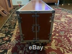 Tamiya R/C 1/14 Semi Box Trailer Custom Paint Container Light Kit Motorized Legs