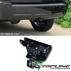 Topline For 2005-2010 Jeep Grand Cherokee Class 3 Trailer Hitch Receiver 2 -Blk