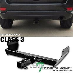 Topline For 2011-2017 Jeep Grand Cherokee Class 3 Trailer Hitch Receiver 2 -Blk