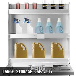 Trailer Door Cabinet, Trailer Cabinet Deluxe Trailer/Garage Organizer Kit