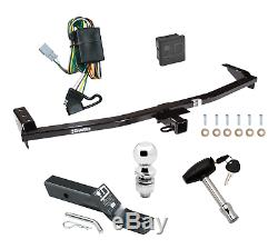 Trailer Hitch For 03-08 Honda Pilot 01-06 Acura MDX Deluxe Pkg with Wiring & Lock