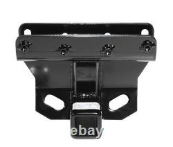 Trailer Hitch For 05-10 Jeep Grand Cherokee WK 06-10 Commander 1-7/8 & 2 Ball