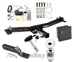 Trailer Hitch For 07-14 Toyota FJ Cruiser Deluxe Package w Wiring 2 Ball & Lock