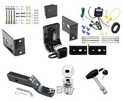 Trailer Hitch For 98-05 Mercedes-Benz ML320 350 430 500 Deluxe Wiring Ball Lock
