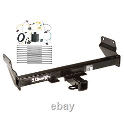 Trailer Tow Hitch For 14-20 Jeep Grand Cherokee Except Diesel with Wiring Harness