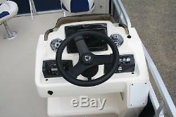 Triple tube -New 18 ft pontoon boat rigged with 115 and trailer - High quality