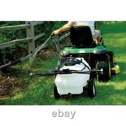 Workhorse Deluxe Trailer Sprayer Lawn Garden Pest Control Agriculture Use 25 Gal