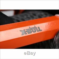 X-BULL 12V 13000LBS Electric Winch Towing Truck Trailer Synthetic Rope IP67